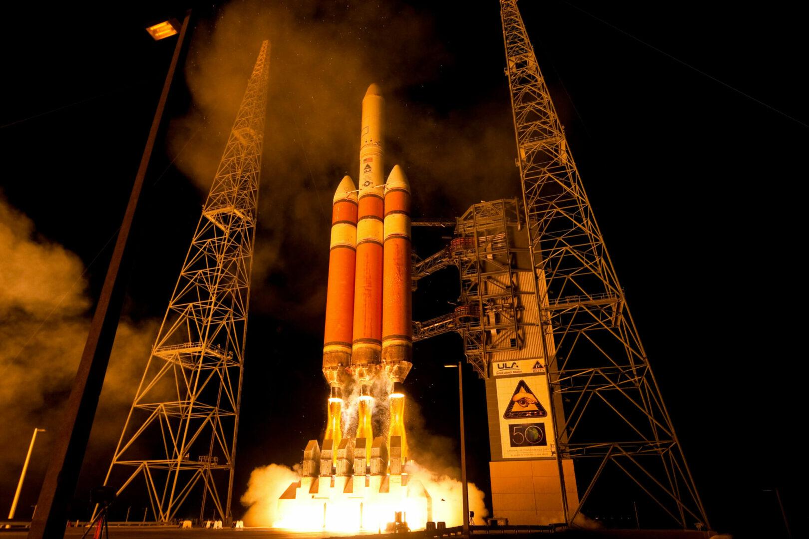 Launch of Delta IV NROL-32, Cape Canaveral AFS, Florida. November 21, 2010